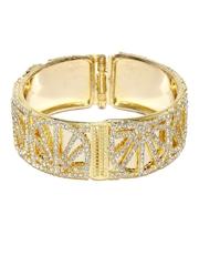 Sukkhi Women Gold-Plated -Studded Cuff Bracelet