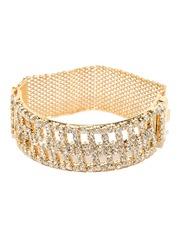 Sukkhi Women Gold-Plated Stone-Studded Bracelet