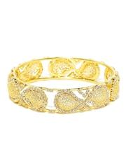 Sukkhi 18K Gold-Plated Stone-Studded Bangle