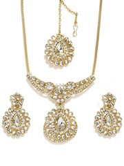 Sukkhi Gold-Toned Jewellery Set