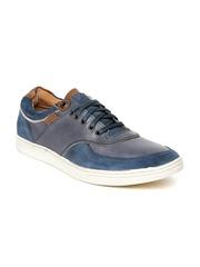 Levis Men Navy Leather Casual Shoes