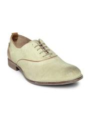 Levis Men Beige Suede Casual Shoes
