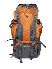 Wildcraft Unisex Orange & Grey Alpinist Plus Rucksack