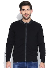 Flying Machine Black Cardigan