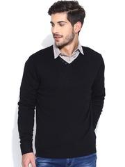 Flying Machine Black Sweater