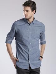 Tommy Hilfiger Blue Slim Casual Shirt