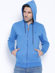 Locomotive Blue Hooded Sweatshirt