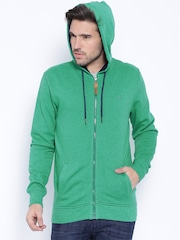 Locomotive Green Hooded Sweatshirt