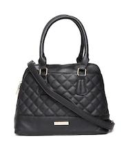 Lino Perros Black Quilted Handbag