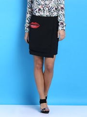Desigual Black Pencil Skirt