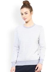 TshirtCompany Grey Melange Sweatshirt