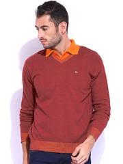 Lee Rust Orange Sweater