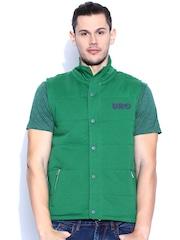 Lee Green Sleeveless Jacket