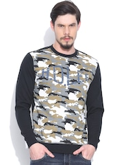 Lee Multicoloured Camouflage Print Ivan Regular Fit Sweatshirt