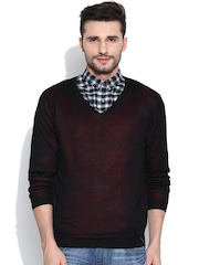 Blackberrys Black Dual-Toned Sweater