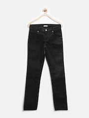 Gini & Jony Girls Black Trousers