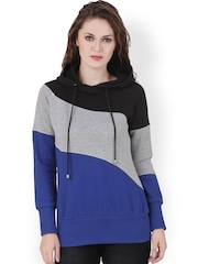 Texco Black & Grey Hooded Sweatshirt