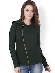 Texco Green Hooded Sweatshirt