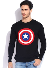 Flying Machine Black Sweater