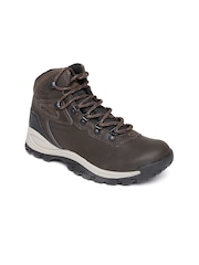 Columbia Women Brown Leather Sports Shoes