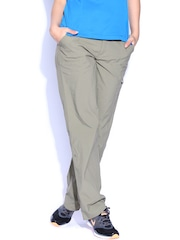 Columbia Taupe Modern Classic Fit Track Pants