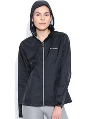 Columbia Black Switchback II Waterproof Hooded Jacket