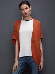 Rinascimento Rust Orange Shrug