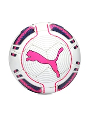PUMA White & Pink evoPOWER 3 Hardground HS Football