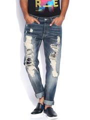 Jack & Jones Blue Erik Anti Fit Jeans