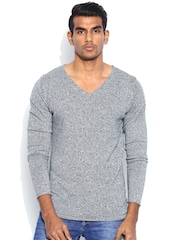 Jack & Jones Black & White Sweater