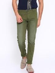 Jack & Jones Green Casual Trousers