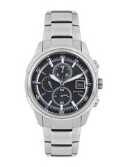 Citizen Men Eco-Drive Black Dial Chronograph Watch CA0370-54E