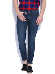 Allen Solly Blue Super Skinny Fit Jeans