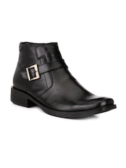 Mactree Men Black Semiformal Shoes