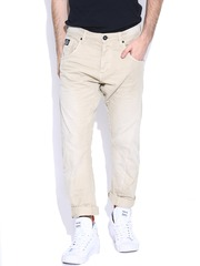 Jack & Jones Beige Anti Fit Jeans