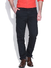 Jack & Jones Black Mike Fit Casual Trousers