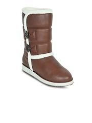 Get Glamr Women Brown Boots