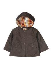 Beebay Boys Brown Hooded Jacket