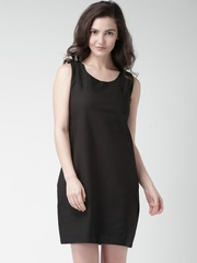 Mast & Harbour Black Shift Dress