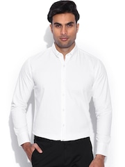 Franco Leone White Smart Casual Shirt