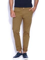 Franco Leone Khaki Chino Trousers
