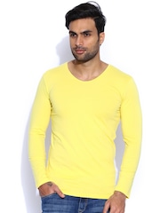 Franco Leone Yellow T-shirt