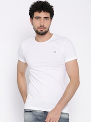 Franco Leone White T-shirt