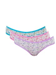 Lady Lyka Women Pack of 3 Printed Briefs NATURALS-4