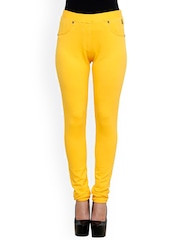 Westwood Yellow Slim Fit Jeggings