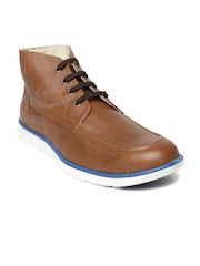 Knotty Derby Men Brown Smart Casual Shoes