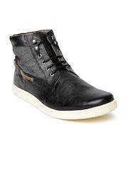 Knotty Derby Men Black Boots