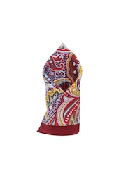 Alvaro Castagnino Multicoloured Printed Pocket Square