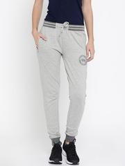 Harvard Grey Melange Track Pants