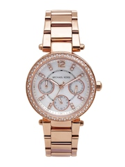 Michael Kors Women Mother of Pearl Dial Watch MK5616I